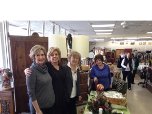 women shopping at Upscale Resale Store