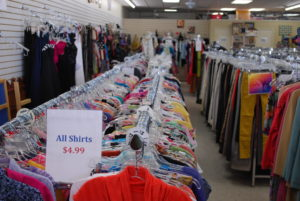 Upscale Resale picture of women shirts