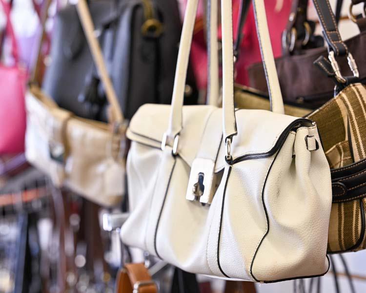 women's purses at Upscale Resale